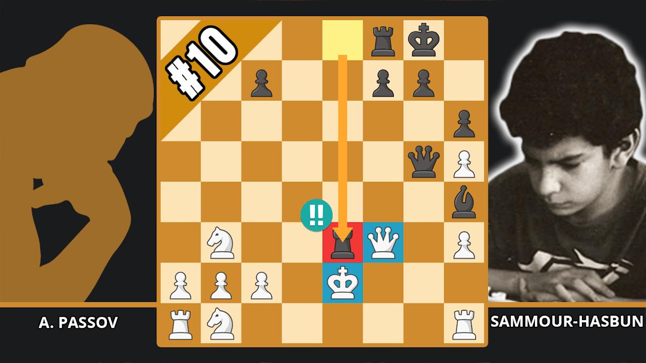 11-Year-Old Chess Prodigy Wins Brilliancy - Top 10 of the 1990s - Passov vs. Sammour-Hasbun, 1991