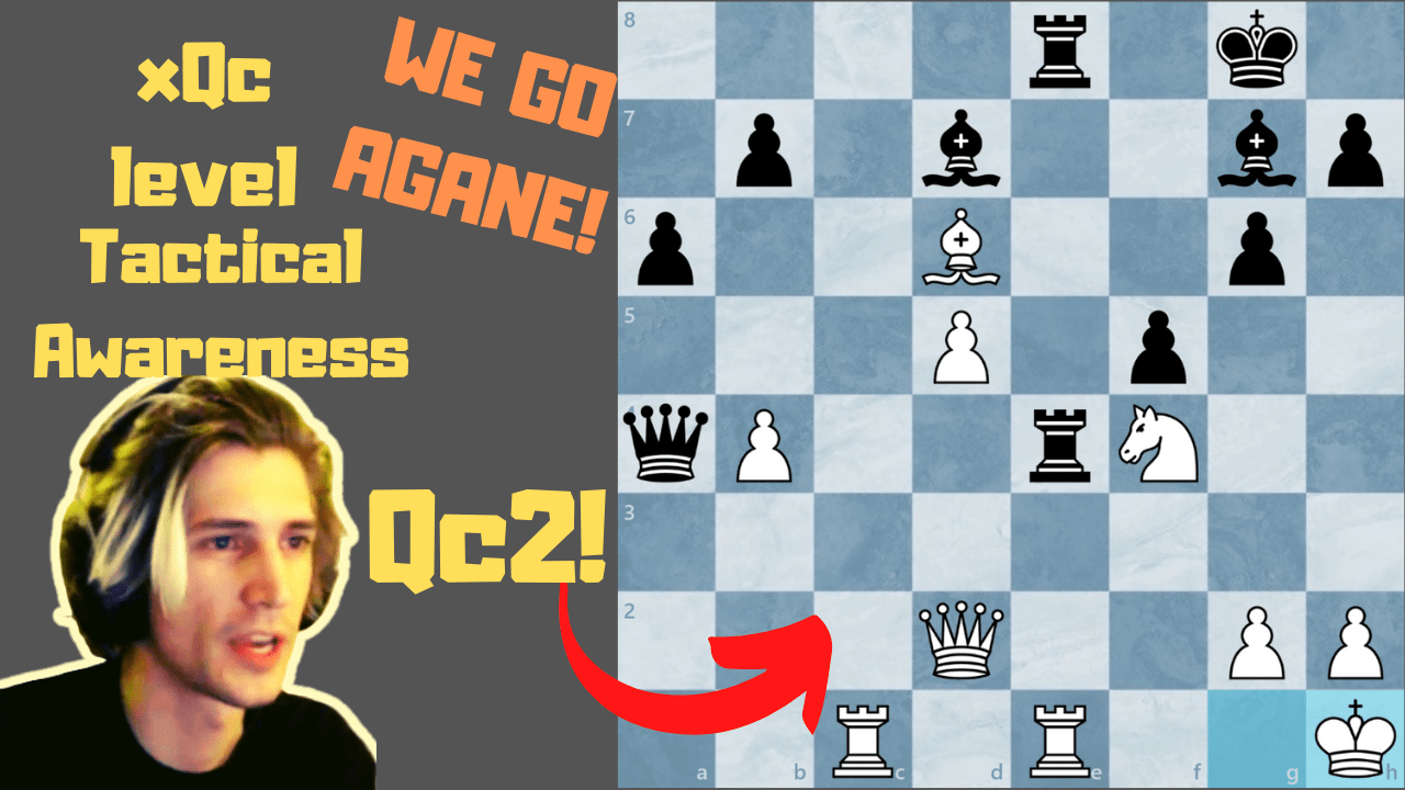 How to be as good as xQc in Chess