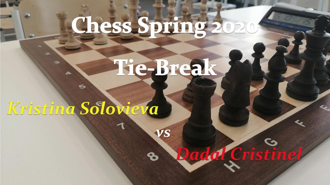 """Live! Online Chess Tournameте """"Spring - 2020"""" - Tie-Break!"""