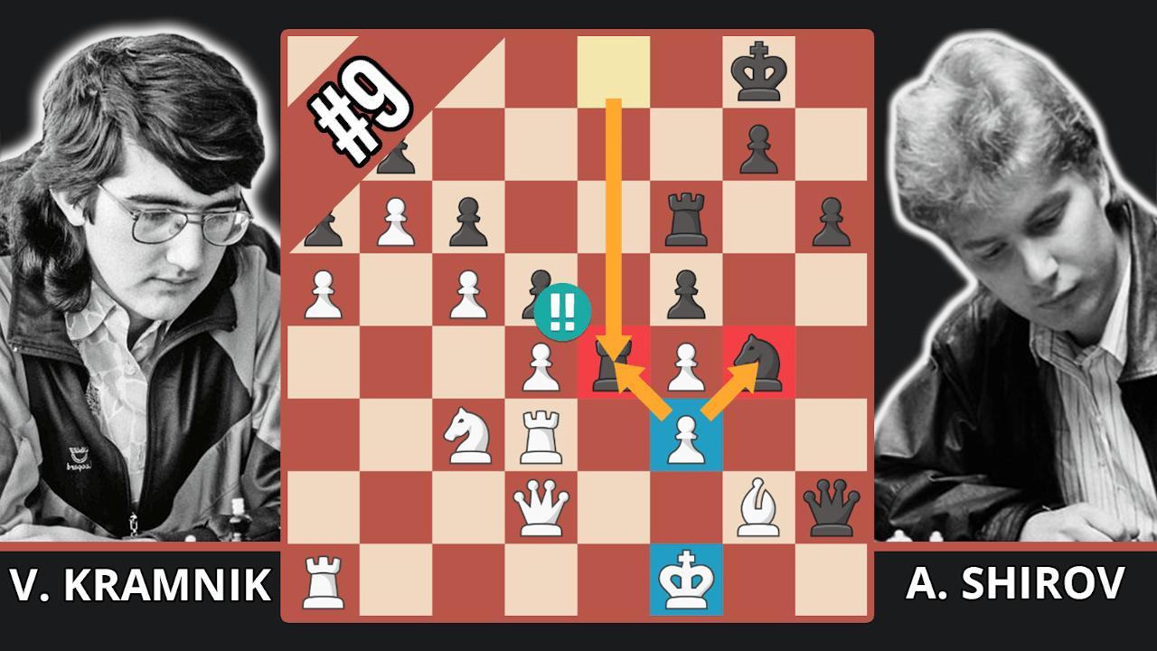 Shirov's Miraculous Chess Swindle - Top 10 Of The 1990s - Kramnik vs. Shirov, 1994