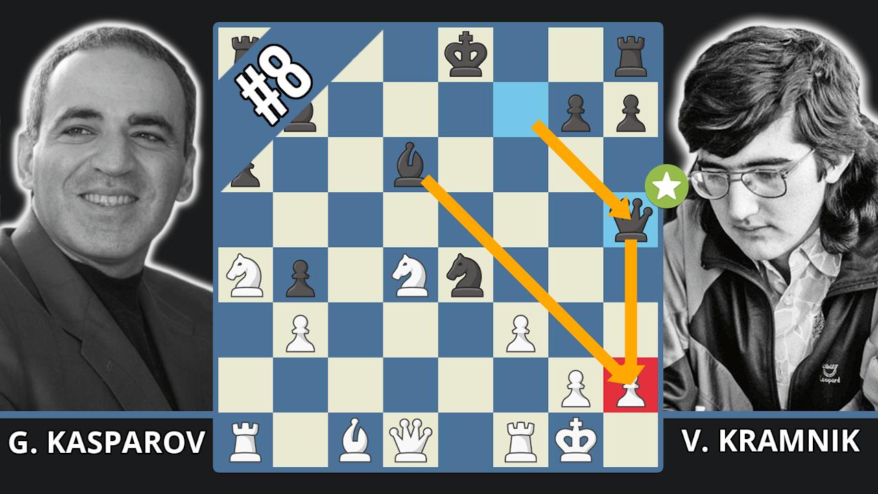 Kramnik Crushes Kasparov - Top 10 Of The 1990s - Kasparov vs. Kramnik, 1996
