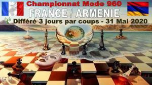WL960 - France Arménie - Parties différées 3j/coup