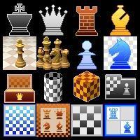 Shiny new chess icons