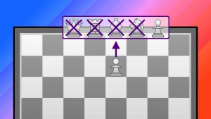 "What if a pawn could ""promote"" to a pawn?"