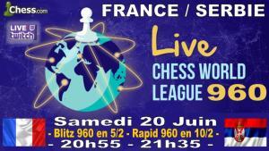 Participez au match France Serbie 960 du Samedi 20 Juin