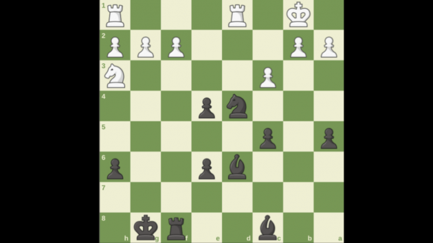 What's Black's best move?