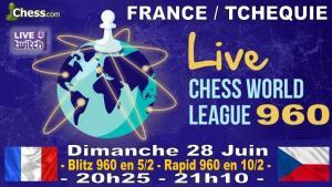 France vs Rep Tchèque 960 ce dimanche soir à 20h25