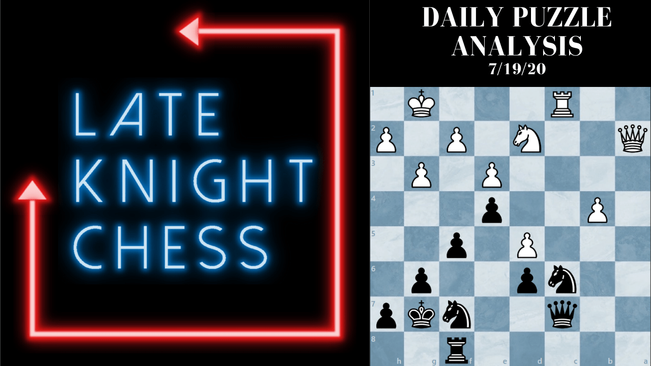 Today's Daily Puzzle 7/19/20: Don't Give Up