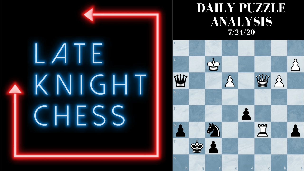 Today's Daily Puzzle 7/24/20: Pawns Break Pins