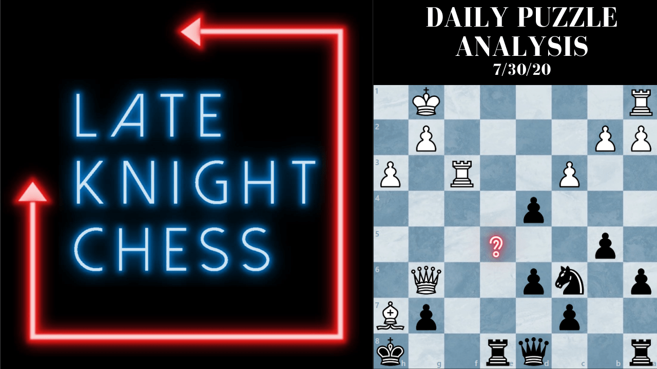 Today's Daily Puzzle 7/30/20: Forks Can Be Deceiving