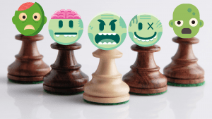 Beware of the zombie pawns