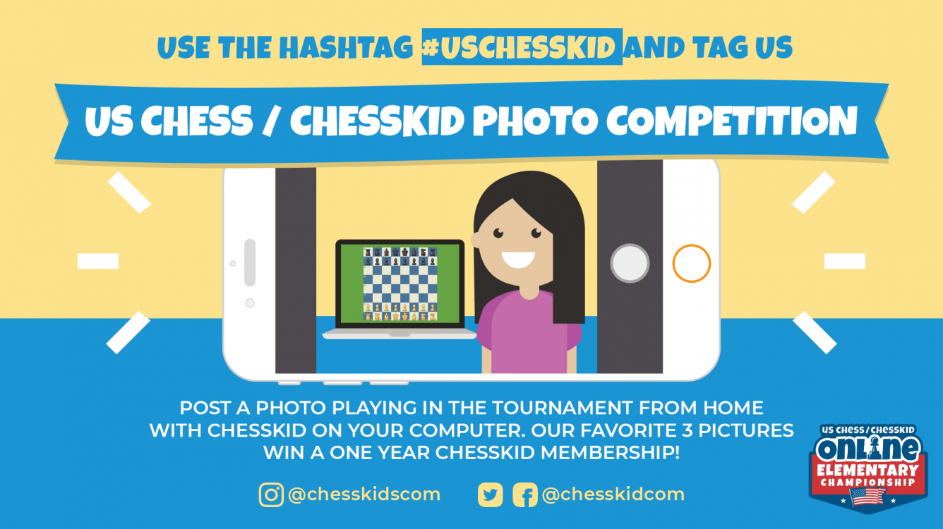 US Chess/ChessKid Online Elementary Championship: How to Follow!