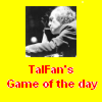 Talfan's game of the day