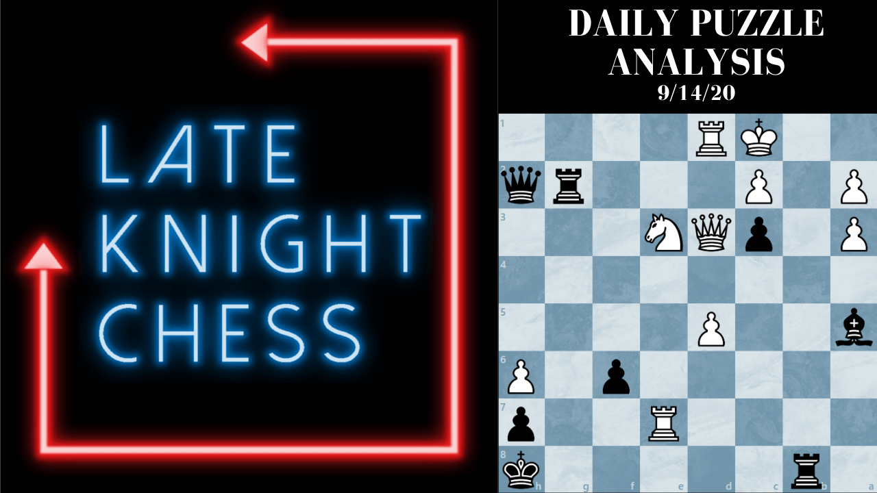 Today's Daily Puzzle 9/14/20: The Teleportation Queen