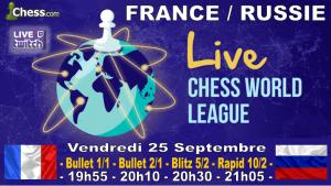France Russie ce Vendredi soir - Tous les joueurs français unis face à l'ogre russe !