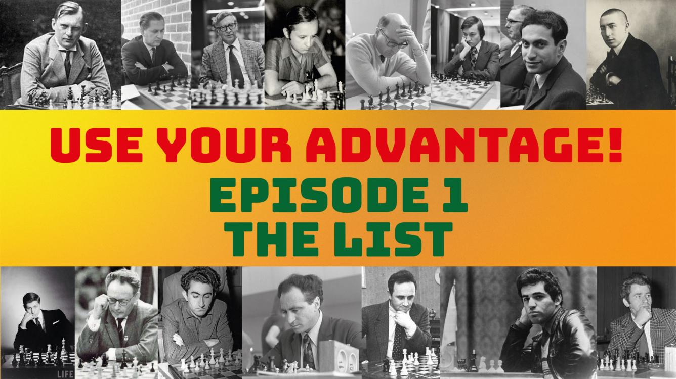 Use your advantage: THE List! (1)