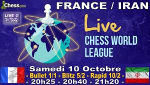 France Iran - Samedi soir, venez jouer avec nous !