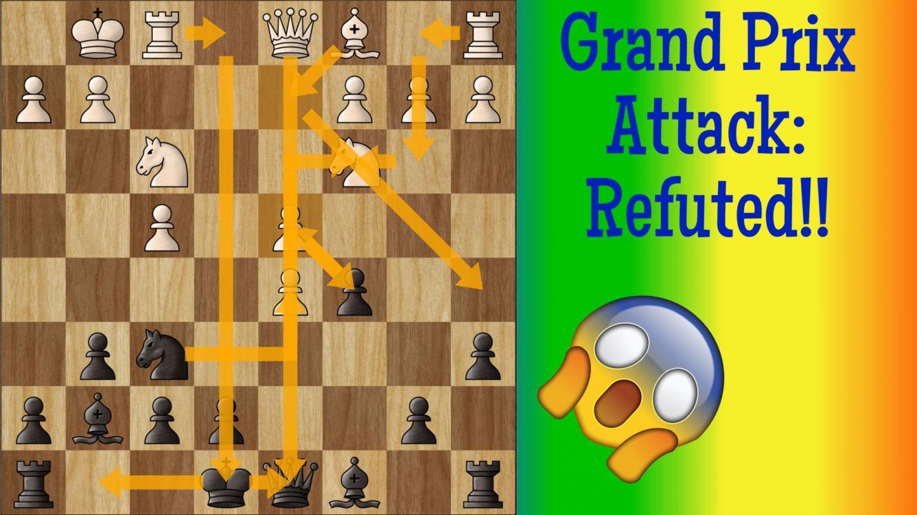 Sicilian Grand Prix Attack Refuted!! (Video)