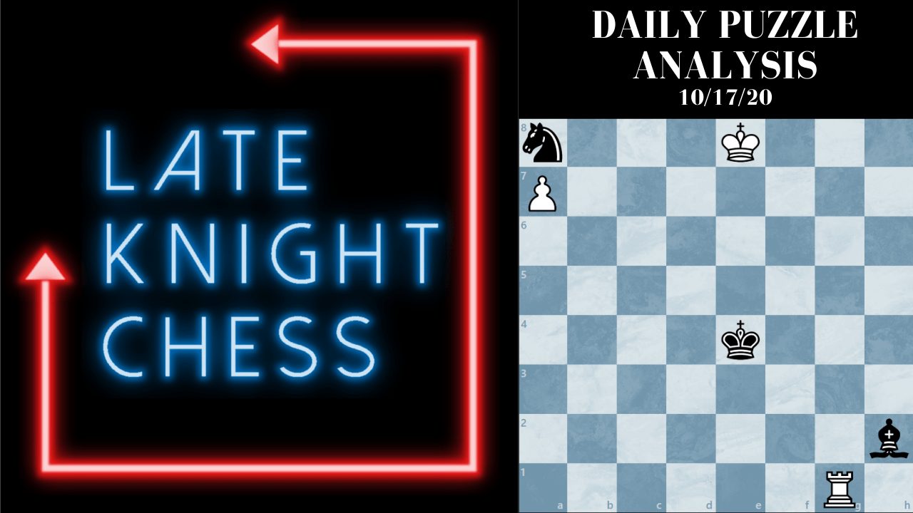 (Video Analysis inside!) Today's Daily Puzzle: Don't Snap-Take Pieces