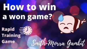 Win a won game?