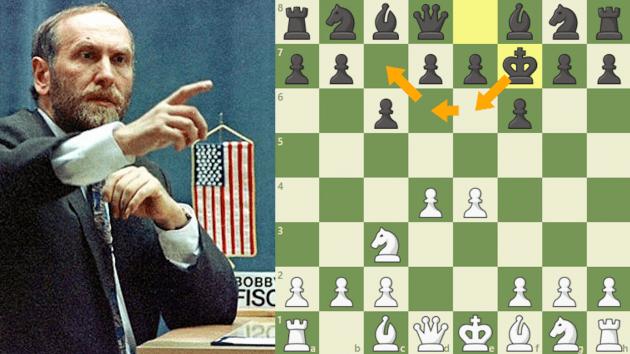 Fischer grał w Internecie?