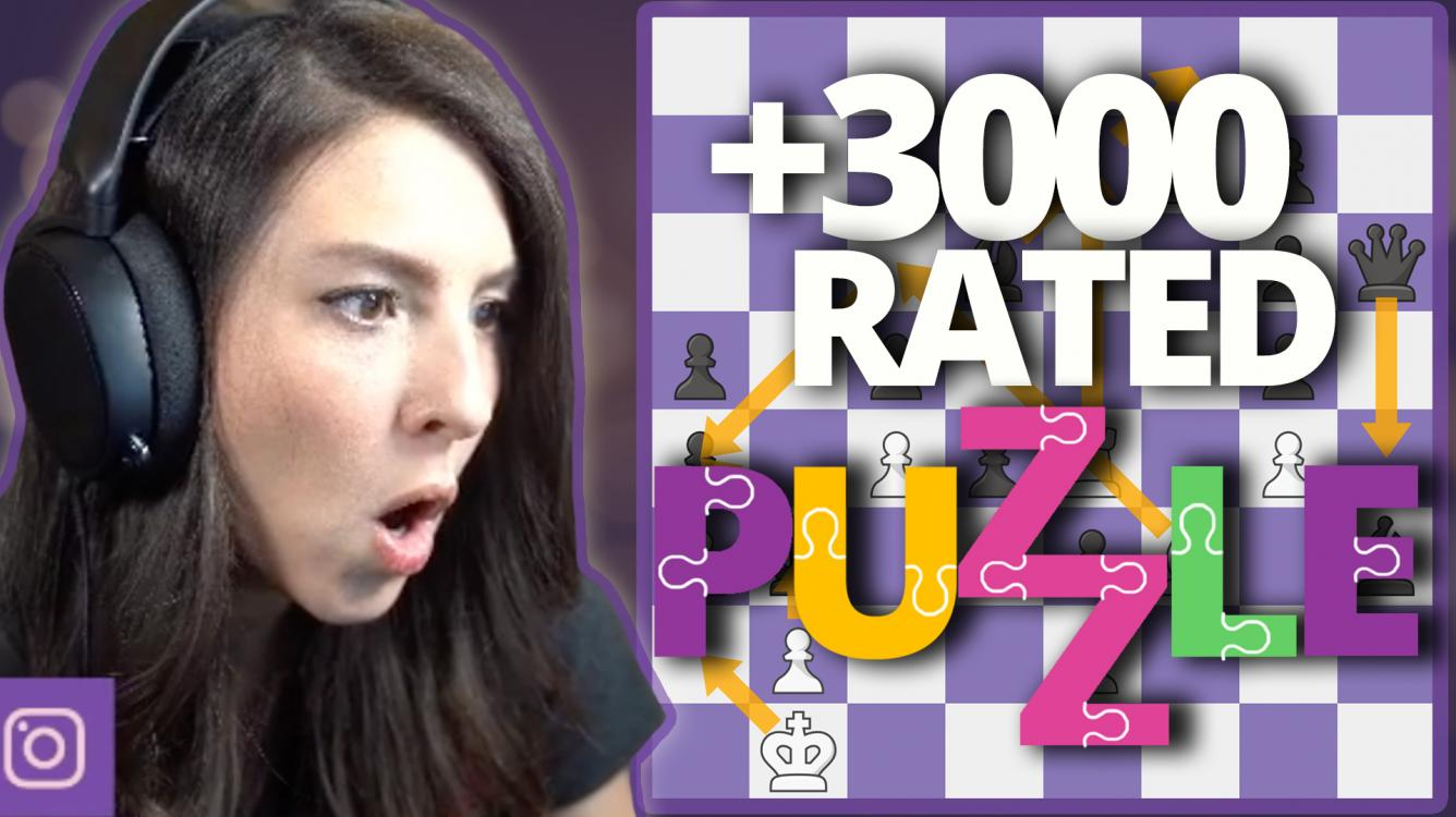 3000 Rated Chess Puzzles Made EASY