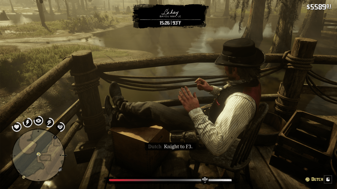 Chess in Red Dead Redemption II
