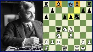 Attacking the King in the Center: Instructive Game by Lasker (+ Video)