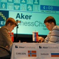 Carlsen and Svidler qualify for final