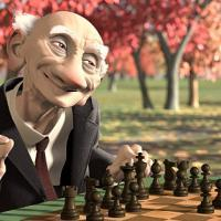 Geri's Game by Pixar