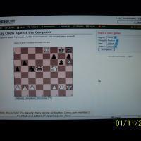¡Le gané al Little ChessPartner!