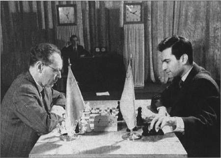 Tal Destroys Botvinnik's French Defense!