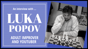 An interview with Luka Popov, adult improver and YouTuber