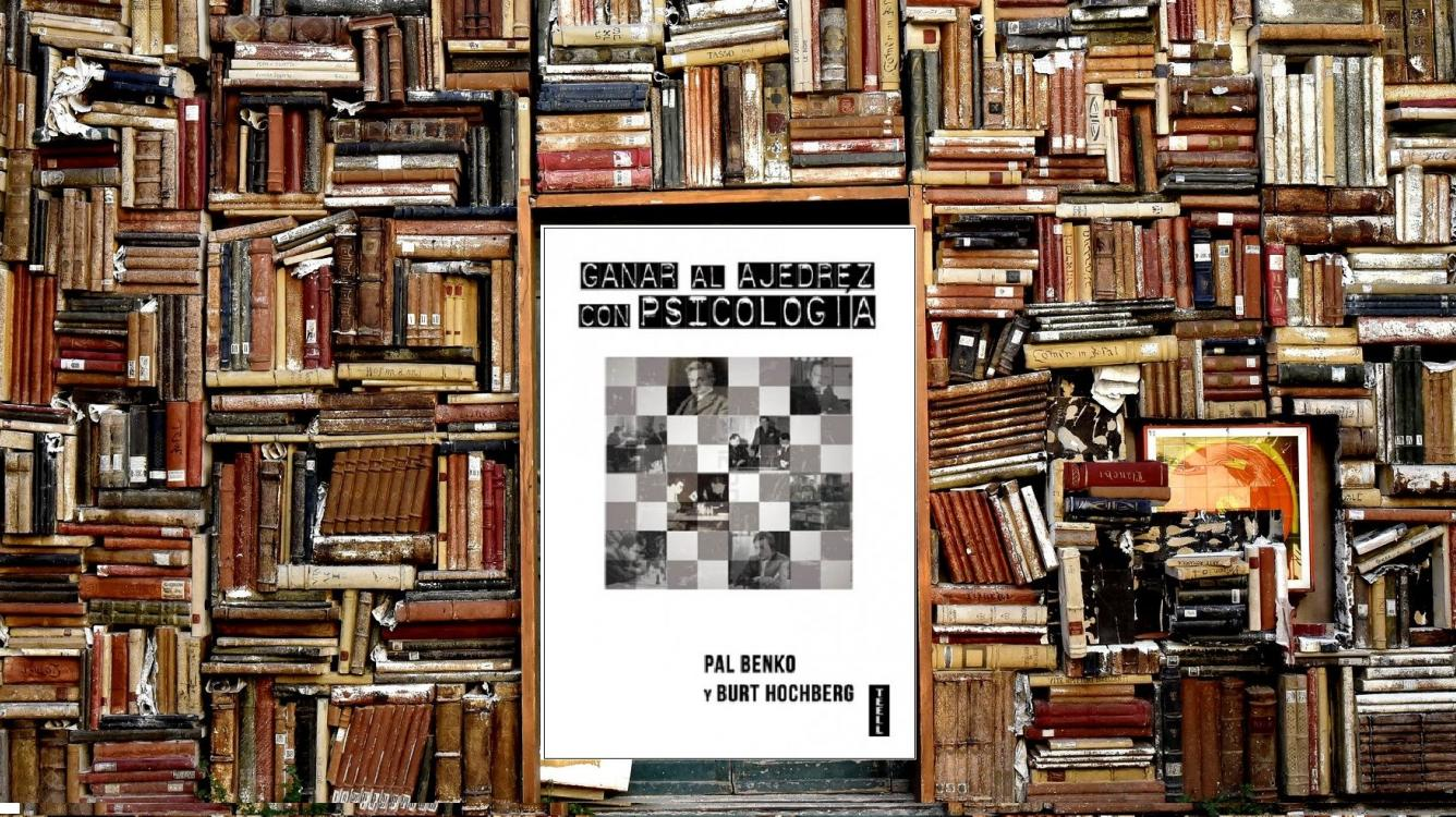Libros de ajedrez I: Ganar al ajedrez con psicología.