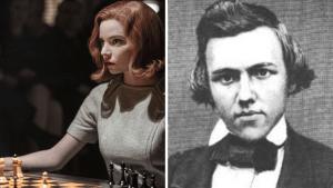 Similarities between Paul Morphy and Beth Harmon (The Queen's Gambit)