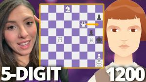 Beginner Beth Harmon Doesn't Play the Queen's Gambit? | Puzzle Rush Mate | Day 3