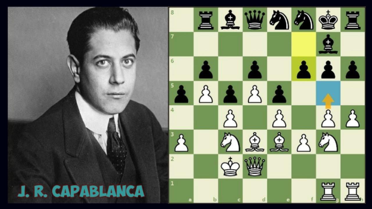 Classic Game: Capablanca vs Vera Menchik, 1935 (+ Video)