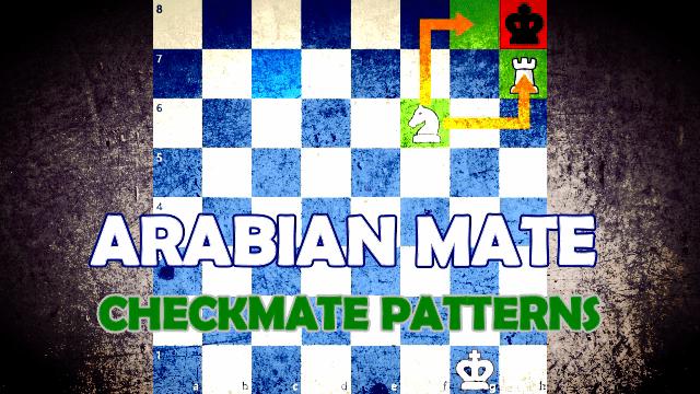 Checkmate Patterns - Arabian Mate