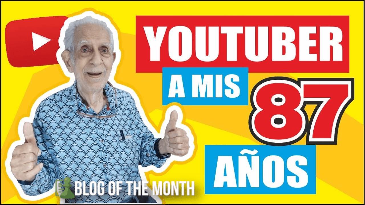 MN Salvador Díaz se convierte en Youtuber a los 87 años de edad / Por Nicola Nigro