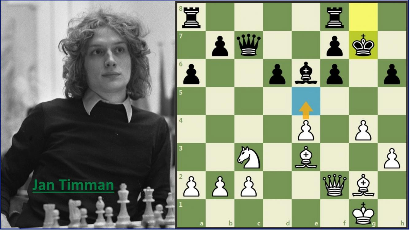 Charming Chess Games: Timman vs Van Wely (+ Video)