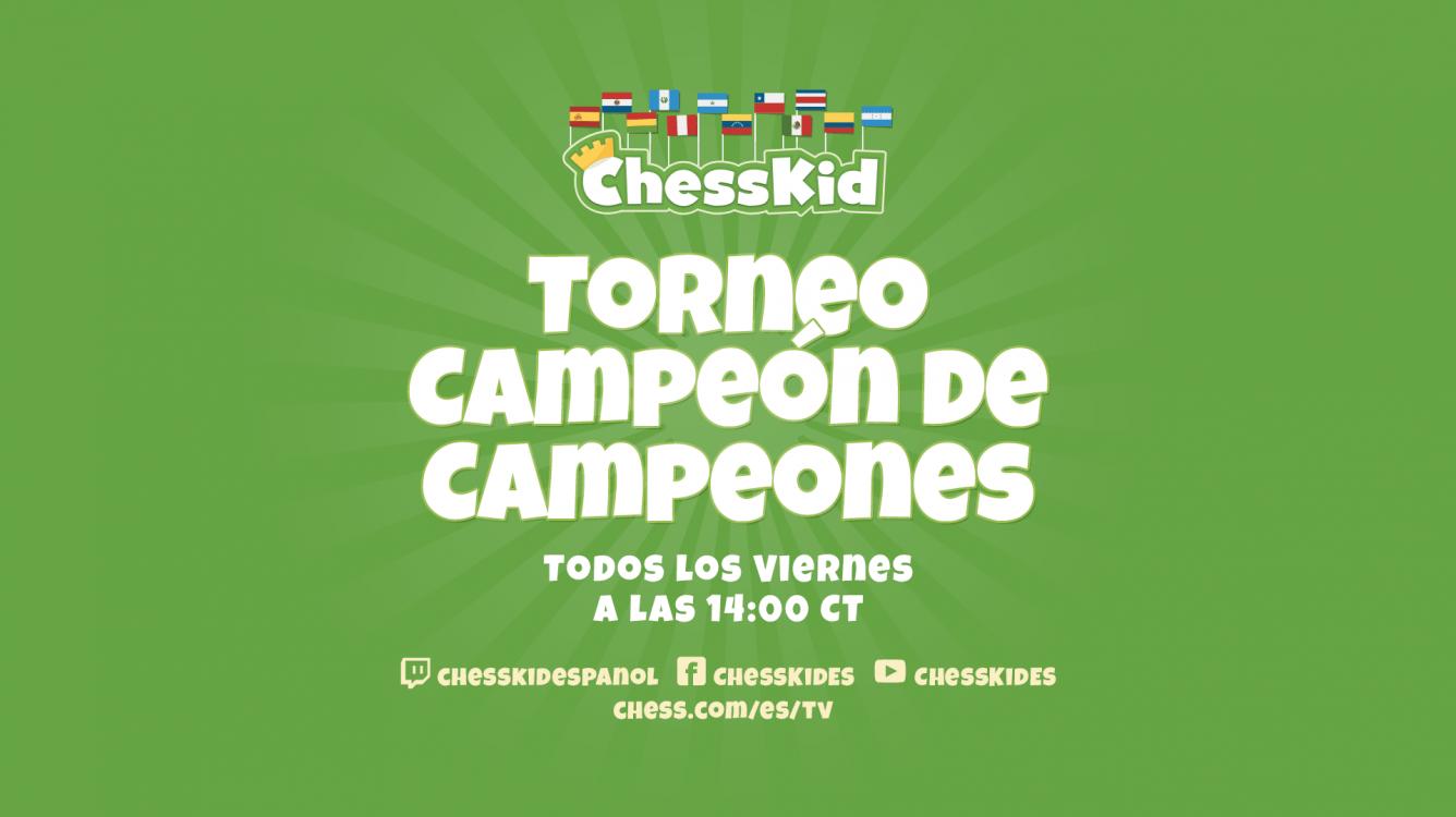 """Torneo Semanal """"Campeón de Campeones"""""""