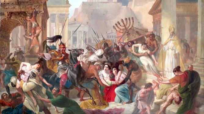 The Sack of Rome. Magistrale di Roma, 1989.