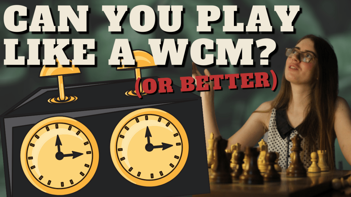 Can You Play Like (or Better Than) a WCM?
