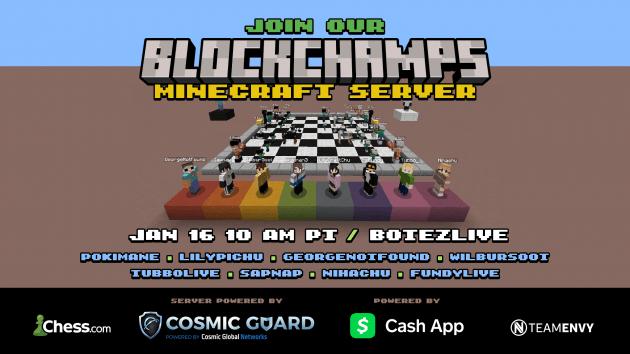 BlockChamps Will Feature the Virtual Minecraft World