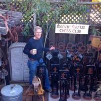 Amazing Life-size Artistic Chess Set!
