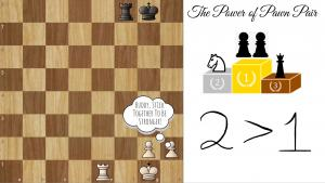 "Happy Valentines Day!! The Power of the Pawn ""Pair""!"