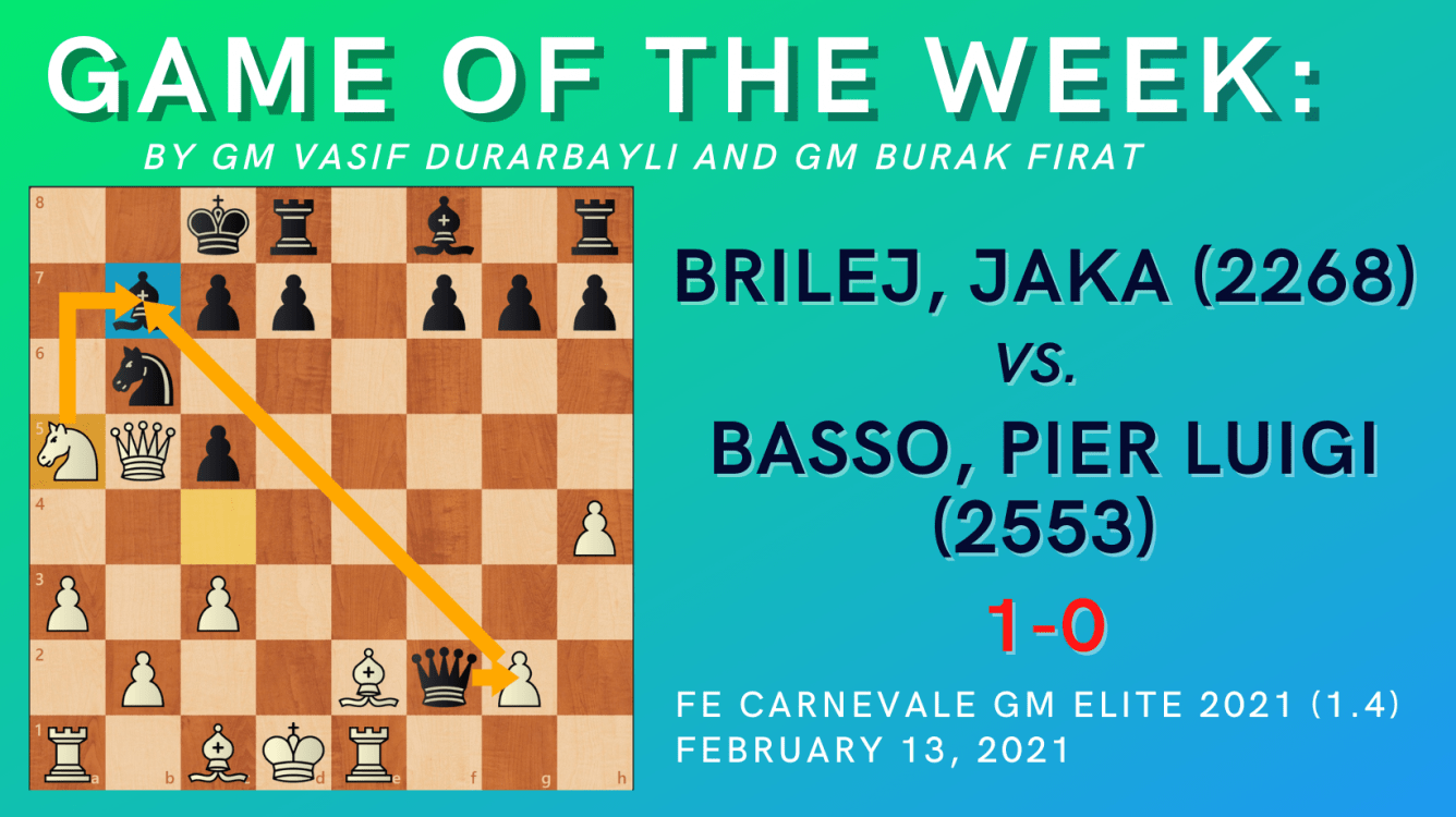 Game of the Week VI - Brilej, Jaka vs. Basso, Pier Luigi