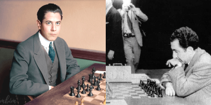 Petrosian Learns from Capablanca