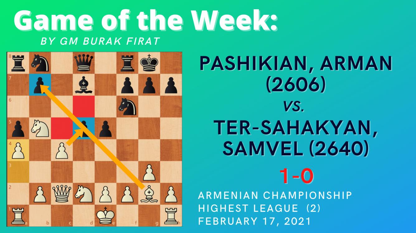 Game of the Week VII -  Pashikian, Arman vs. Ter-Sahakyan, Samvel