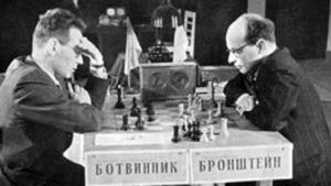 Botvinnik-Bronstein, 1951 World Championship Match- 4 Bronstein Victories with Black